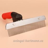 EFGUFHC Meilleur professionnel peigne désépaississant et animaux tonte & toilettage brosse  Peut être utilisé sur les petites  Moyen & chats grands & chiens-A - B07CXK8587