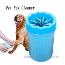 EFGUFHC Pied pour animaux de compagnie portable pet nettoyeur nettoyage brosse coupe  Peut être utilisé sur les petites  Moyen & chats grands & chiens-B - B07CXGWBC5