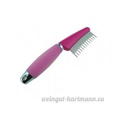Long et court dents éliminer les poils morts enlever les puces Promouvoir la circulation sanguine du peigne pour animal domestique - B075D9SDH2