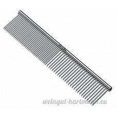 Paaiter pour animal domestique 7–1/5 1cm en acier Toilettage Peigne - B01L8VSCW2