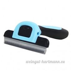 Couteau nettoyant pour chien HongKang  chien peigne  outils de beauté pour chat  aiguille propre  articles pour peignoirs - B073Z8DCSN
