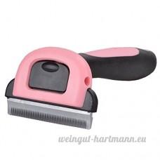 Hongkang Chien couteau de nettoyage pour ordinateurs  peigne Chien  chat Beauté outils de nettoyage  aiguille  peigne pour animal domestique Fournitures - B073Z7J67R