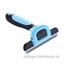 EFGUFHC Animaux tonte & toilettage brosse peigne de sous-poil rake  Peut être utilisé sur les petites  Moyen & chats grands & chiens-A - B07CXLDB7T