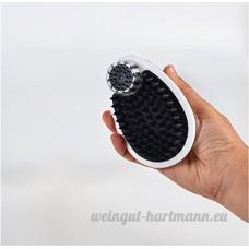 EFGUFHC Bain massage bain outil pour chiens  Animaux tonte & toilettage brosse à main  Pour les moyennes Animaux de compagnie de cheveux longs-A - B07CXDV8M9