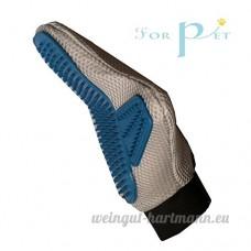 Brosse en caoutchouc wuzmei Pet Grooming Glove–Parfait pour tous les types de Manteau de Cheveux Retirer et brosse de bain pour chiens  chats et chevaux–gebrauchte Sèche ou humide - B01L98JSJA