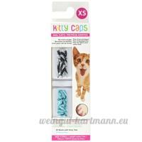Kitty Nail Caps–Couleurs assorties–Medium Lot de 3(40CT chaque  120CT Total) - B00B3YB5A6