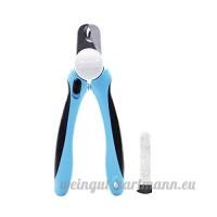 Shineblue Chien Pince à ongles et tondeuse avec détecteur de rapide rapide protection de sécurité Poignée de lime à ongles Lock (L) - B072VDCGH6