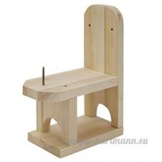 Chaise en bois pour écureuils - B0718W2263