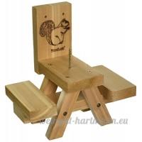 Woodlink Sqf7Table de pique-nique Ear of Corn Squirrel Feeder (discontinued par le fabricant) - B001MQB6WW