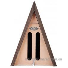 Beeztees Hôtel à Papillon Triangle Marron 14 x 11 x 20 cm - B00FRFM5TW
