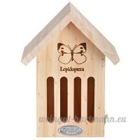 Esschert Wa39Papillon Maison avec ligne Dessin - B00V6H3T86