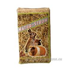 Bubimex Paille Naturelle pour Petit Animal 30 L - Lot de 3 - B079ZNVW6B
