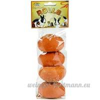 Quiko Sunny Brunch Friandise Rouleau de Carotte pour Rongeur 4 pièces 90 g - B01B6749AM