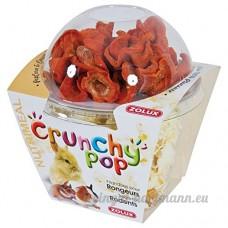 Friandises pour rongeurs CRUNCHY POP CAROTTE 43G Pop corn et carottes. - B0154IJ88W