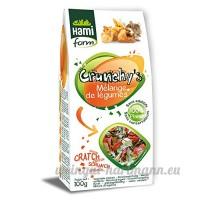 Friandises pour Rongeur & Furet  Mélange légumes  100g - HAMIFORM - B007WHWN6S