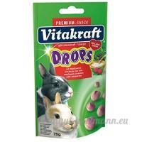 Vitakraft Sugar Free Drops 75g (Flavour: Wild Berry) - B00NABRDYC