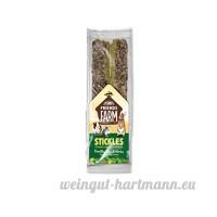 Tiny Friends Farm - Biscuits aux Herbes et Fléole en Baguette pour Lapin - 80g - B00EE315L2
