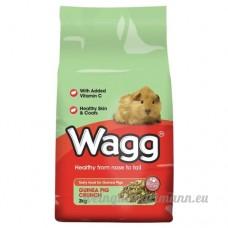 Wagg Guinée Pig Crunch 2 kg - B00XN2ROEW