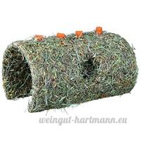 Naturel Snack Grotte en céréales  avec carotte pour petits rongeurs et lapins (15× 12× 25cm/400g) - B00815IHA6