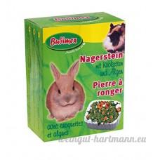 Bubimex Pierre à Ronger Croquettes/Algues pour Petit Animal - Lot de 3 - B079ZNVY2N