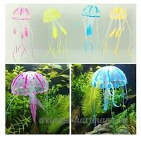 5 morceaux de méduses artificielles pour décoration Aquarium - B012CHM920