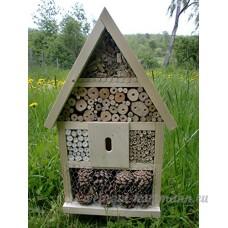 Hôtel à insectes insectes abeilles insectes à la main Nichoir prêt carbure naturel 56x 35x 10cm - B01CU7DIUE