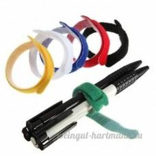 Kyz Kuv 8 cm de fil à crochet magique réutilisables sangles pour câbles-Rouge - B014RB43SM
