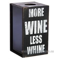 Evergreen Enterprises EG8BCH014 More Wine Less Whine Cork Holder by EVERGREEN ENTERPRISES - B00OY5QBPK