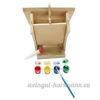 YYHIGH Table accrochante en bois de graine de jardin de buffet d'oiseau de station d'alimentation d'oiseau avec des pigments - B078NS65YD