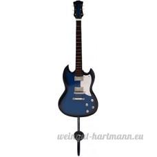 Noir uni Bleu &Wallhook guitare Standard - B00BX6EM90