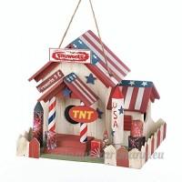 Fireworks support birdhouse - B06ZYPM41F