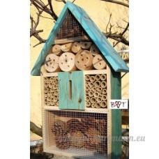 BTV Hôtel à insectes taille XXL en bois Coloris variés - B00CVXOL9K