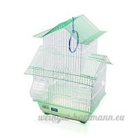 dzljaula pour oiseaux avec mangeoires (30x 23x 46cm) vert - B01N9CSLL6