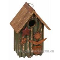 Décoration de jardin Zh3014g birdhouse  24 1cm  Vert - B00BTAWB7K