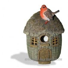 Vivid Arts Bird Care en osier Robin birdhouse - B008BQV8V0