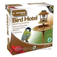 Kingfisher Hôtel Oiseaux À Énergie Solaire Effet cuivre bronze - B00C8SI4F0