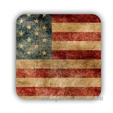 Difference Made By Mdf For Square Refrigerator Magnet For Girls Printing American Flag 1 - B073ZKGWPV
