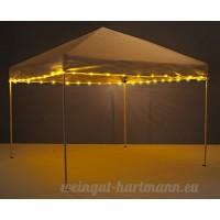 Canopy Brightz LED Tailgate Canopy & Patio Umbrella Accessory  Gold - B073BZV898