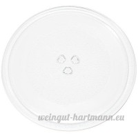 Replacement Rival EM720CWA-PM Microwave Glass Plate - Compatible Rival 3517203600 Microwave Glass Turntable Tray - 10 (255mm)  Model:   Tools & Hardware store - B01FFCEF1M