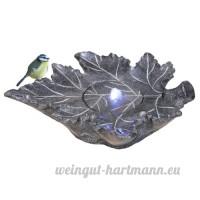Habau 2528 Fontaine bain d'oiseaux Aspect pierre naturelle - B007DD5UK2
