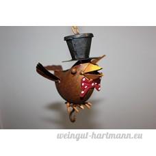 Graisse Support Oiseau à suspendre Décoration à suspendre avec 1crochet F. Graisse - B075QM41HW