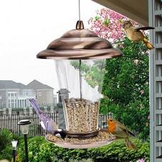 Doublure Métal Outdoor Oiseaux de Jardin Parc à tirer Oiseaux Oiseaux besoins Jardinière de balcon avec 20 5× 29cm - B07239TK7G