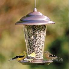 Imitation cuivre Outdoor Cage pour Oiseaux Nest Maison Jardin Jardin Oiseau décoratif Oiseau Feeder - B0719Q8MC2