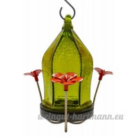 NATURES WAY BIRD PRODUCTS LLC - Hummingbird Feeder  Green Crackled Glass - B014V3VSOS