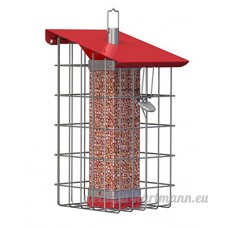 """World Source Partners The Nuttery Geohouse Peanut/Sunflower Seed Feeder-8.7"""" H x 7.1"""" W x 8.1""""D - B00LE7WHGS"""