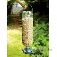 Generic.. Feeder Feeder Kit op Hangin à suspendre Bird E DR Recycler Boisson Rink 4 x Bouchon RS bouteilles dans mangeoires - B076WZ8QDB