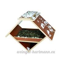 Elmato 10842  Mangeoire pour bar  or Bruant - B0168QRX86