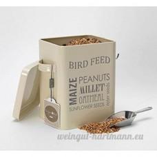 Burgon & Ball Boîte d'alimentation pour oiseaux–Jersey Crème - B015QB55D4