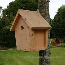 Nichoir maisonnette pour oiseaux mésanges Ø32mm en bois  fabrication artisanale - B073PBFVQL