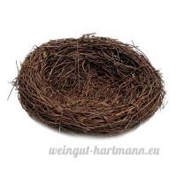 Baoblaze Nid d'oiseau Nid de Perroquet Suspendu Jardinage Bird House Craft Nature - 8cm - B07BDLGHBV